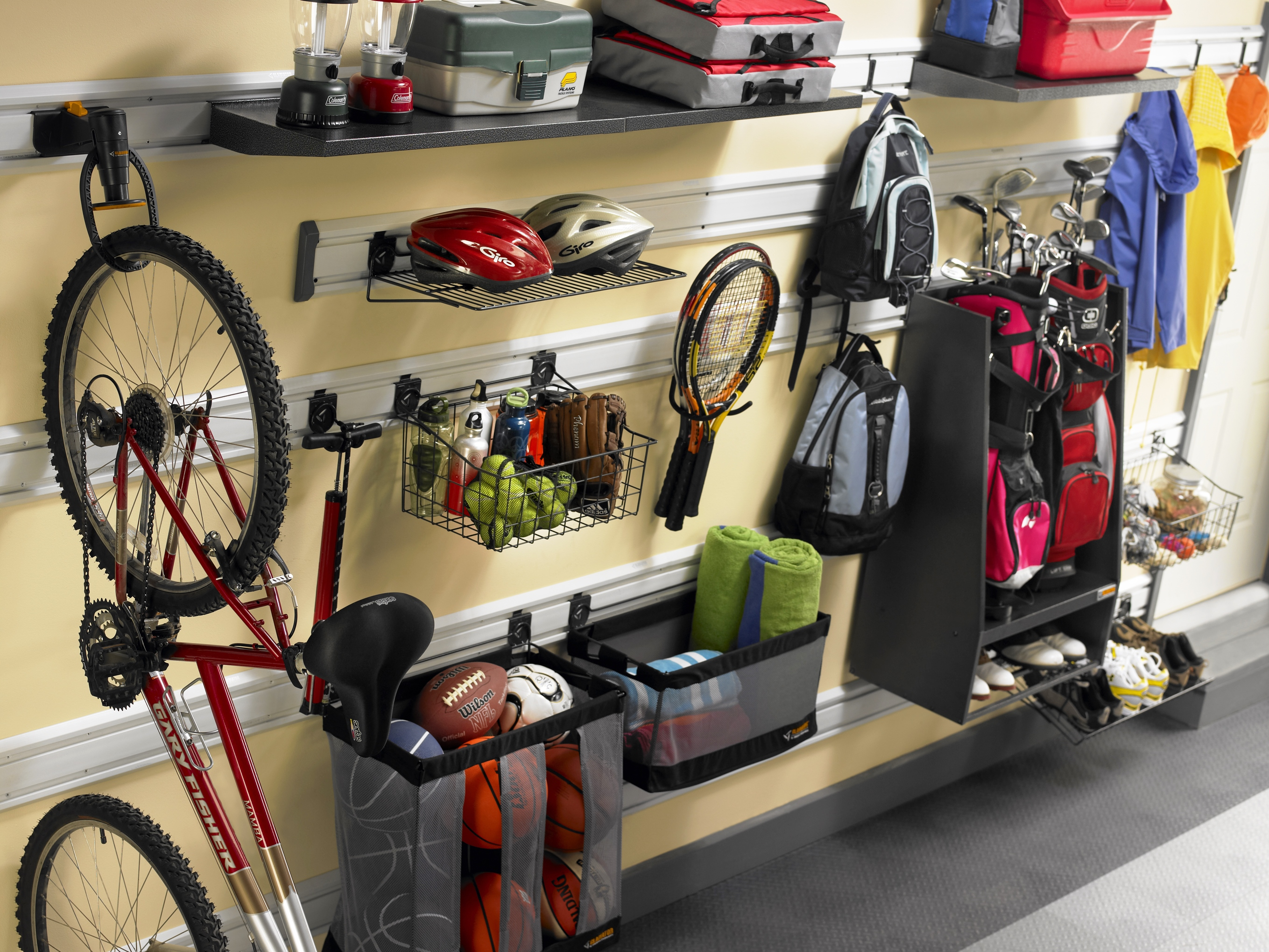 Wall Organization System Amp Accessories Your Garage Organizer
