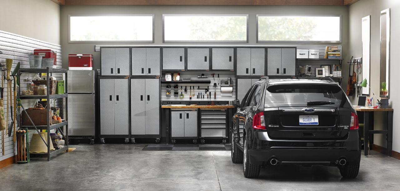 garage cabinets your garage organizer. Black Bedroom Furniture Sets. Home Design Ideas